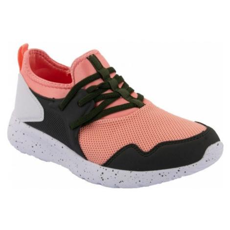 ALPINE PRO ALFIA oranžová - Juniorská sportovní obuv