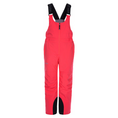 KILPI Dětské lyžařské kalhoty CHARLIE-J LJ0001KIPNK Růžová