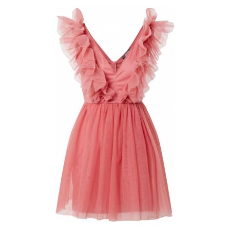 Missguided Koktejlové šaty pink
