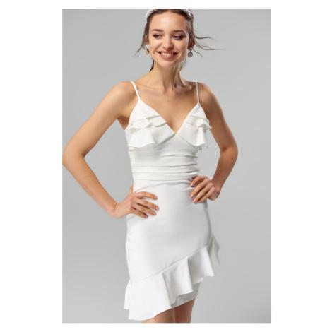 Trendyol dámské šaty s volány