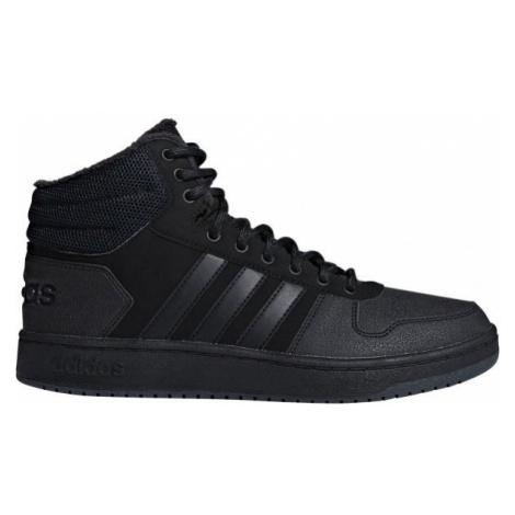 adidas HOOPS 2.0 MID černá - Pánské volnočasové boty