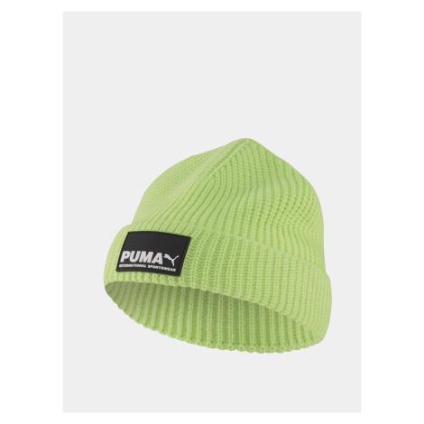 Zelená pánská čepice Puma