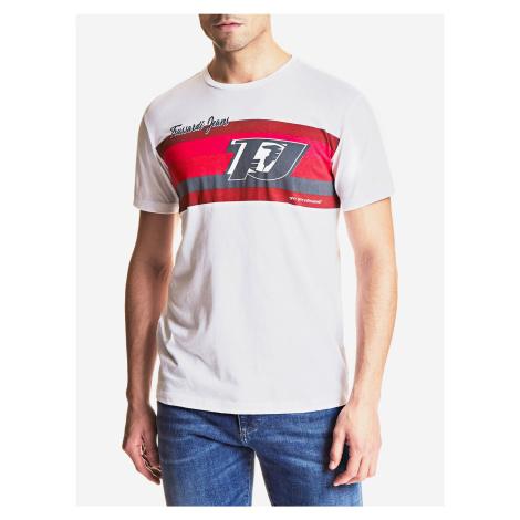 Tričko Trussardi T-Shirt Cotton Jersey Regular Fit Bílá