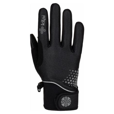 Unisex softshellové rukavice KILPI NEDEL-U černá