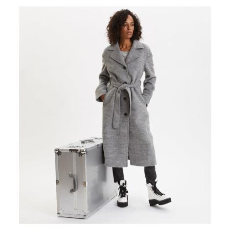Kabát Odd Molly Lengthy Beaut Coat - Šedá
