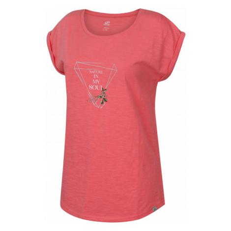 Dámské tričko Hannah Abble salmon rose