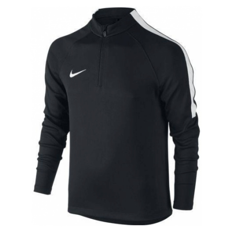 Dětská mikina Nike Squad Football Drill Top Černá / Bílá