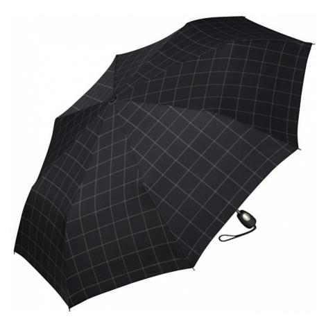 Esprit Pánský skládací automatický deštník Gents Mini Tecmatic Check Black