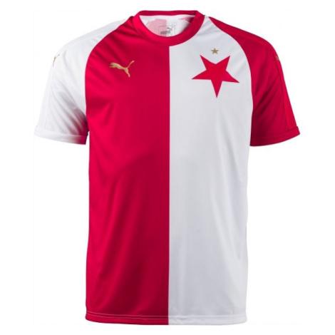 Puma SK SLAVIA HOME REPLICA bílá - Fotbalový dres