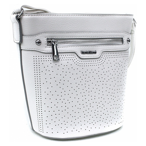 Bílá menší crossbody dámská kabelka Fernne Mahel