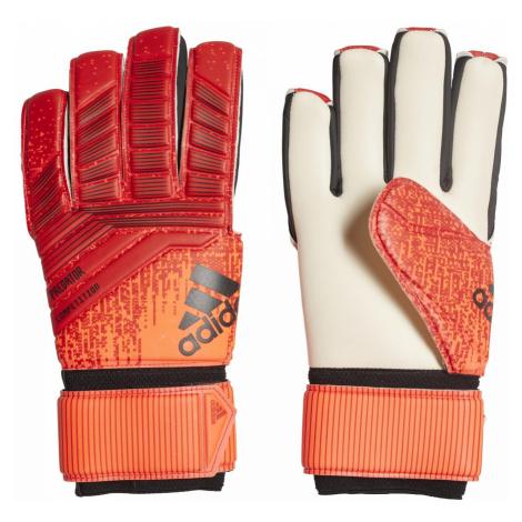 Brankářské rukavice adidas PRED COMP Oranžová / Černá