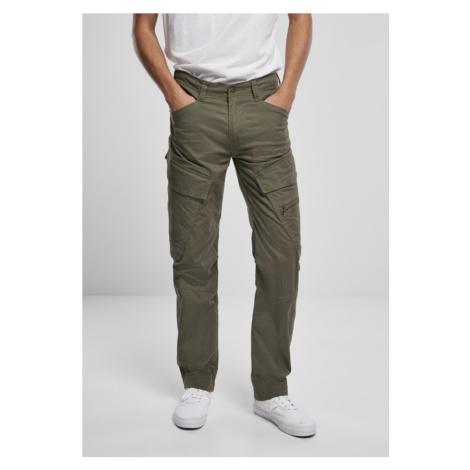 Adven Slim Fit Cargo Pants - olive Urban Classics