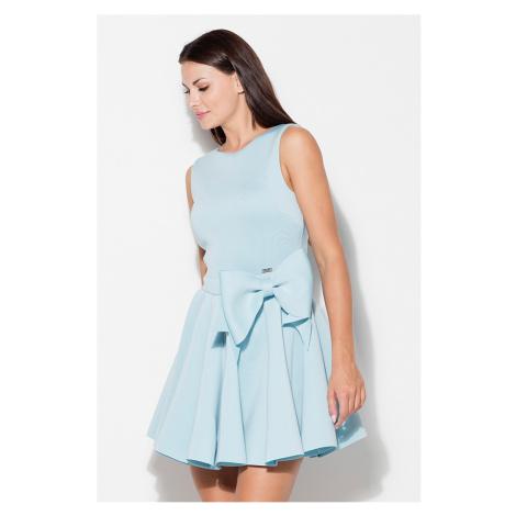 Světlemodré šaty K271 Katrus