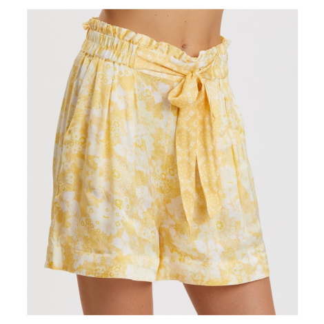 Šortky Odd Molly Pretty Printed Shorts - Žlutá