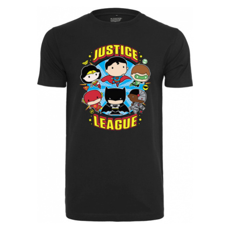 Mr. Tee Justice League Comic Crew Fit Tee black