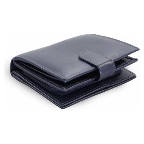 Tmavě modrá dámská kožená peněženka Kendall Arwel