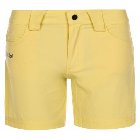 KILPI Dámské outdoorové kraťasy SUNNY-W ML0031KIYEL Žlutá