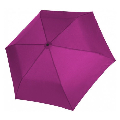 Růžový dámský i dětský skládací mechanický deštník Aline Doppler