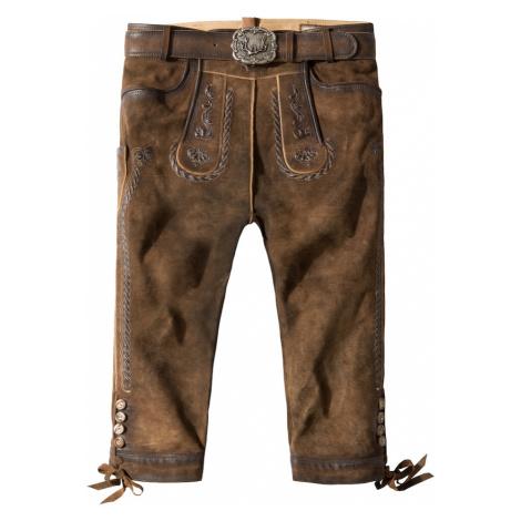 STOCKERPOINT Krojové kalhoty 'Johann' hnědá