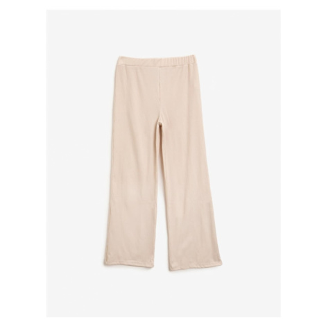 Koton Wide Leg High Waist Pants