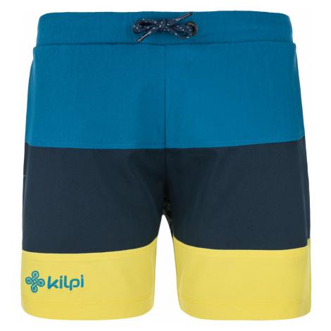 KILPI Chlapecké šortky SWIMY-JB MJ0018KIDBL Tmavě modrá