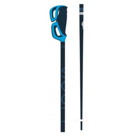 Scott STRAPLESS S modrá - Dámské lyžařské hole