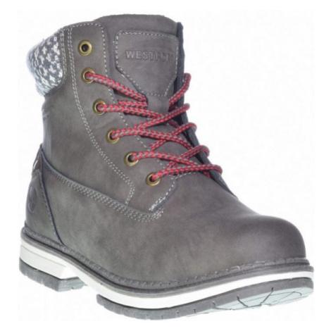 Westport LOTTA3 tmavě šedá - Dámská zimní obuv