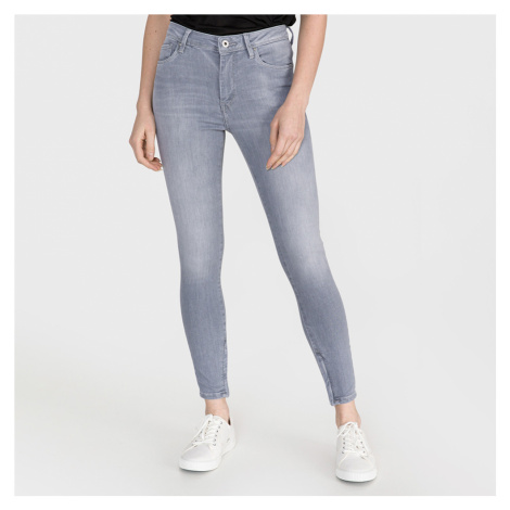 Pepe Jeans dámské šedé džíny Cher High