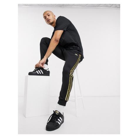 Adidas Originals superstar 24K joggers in black