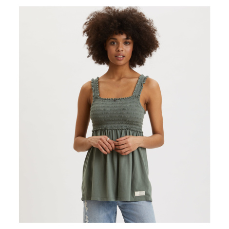 Tričko Odd Molly Peppy Top - Zelená
