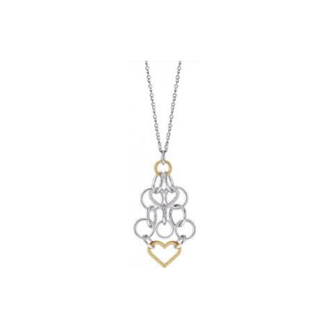 Morellato Ocelový bicolor náhrdelník Essenza SAGX02 (řetízek, přívěsek)