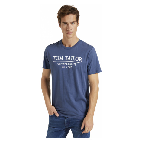 Tom Tailor pánské triko s logem 1021229/26011