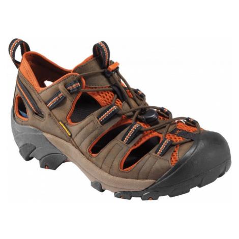 Pánské sandále Keen Arroyo II M black olive/bombay brown UK