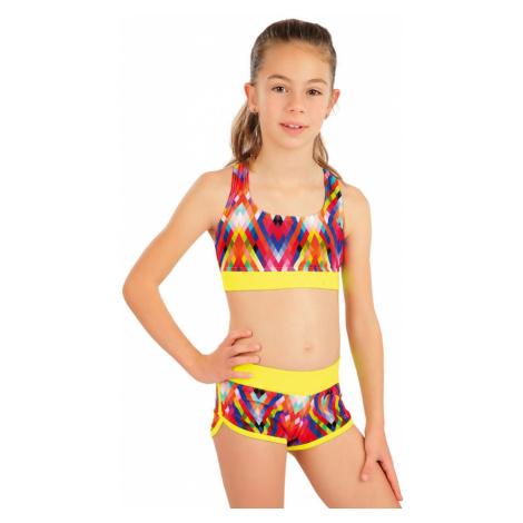 LITEX Dívčí plavky sportovní top 63620