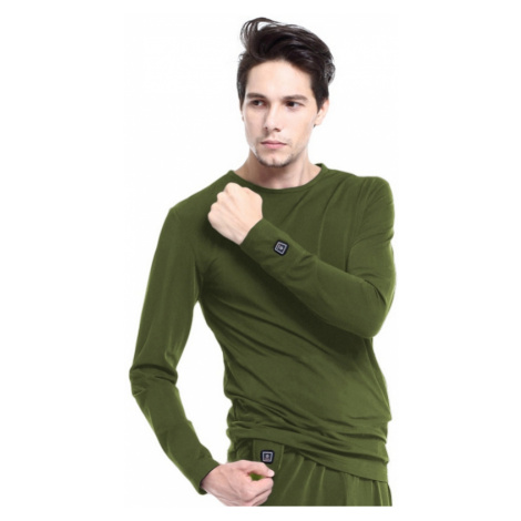 Vyhřívané Tričko S Dlouhým Rukávem Glovii Gj1C Zelená