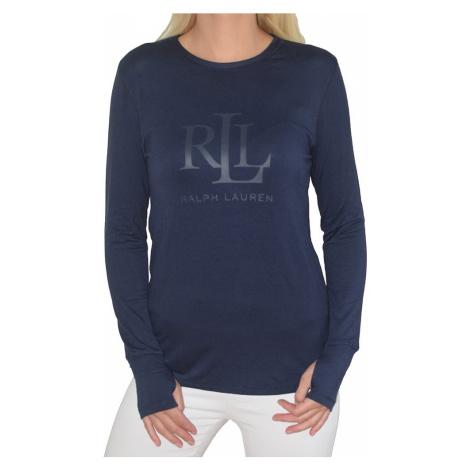 Ralph Lauren dámské triko ILN21745 modré - Modrá