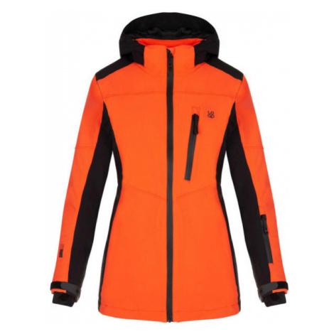 Loap FALONA oranžová - Dámská lyžařská bunda