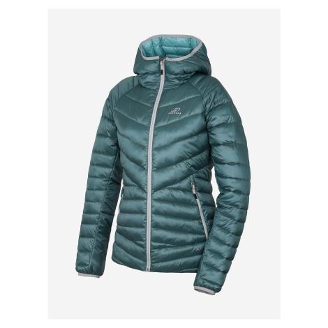 Modrá dámská prošívaná zimní bunda Hannah