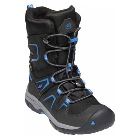 Keen LEVO WINTER WP Y černá - Zimní boty pro děti