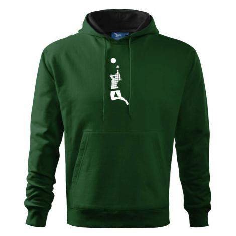 Volejbalistka síť - Mikina s kapucí hooded sweater