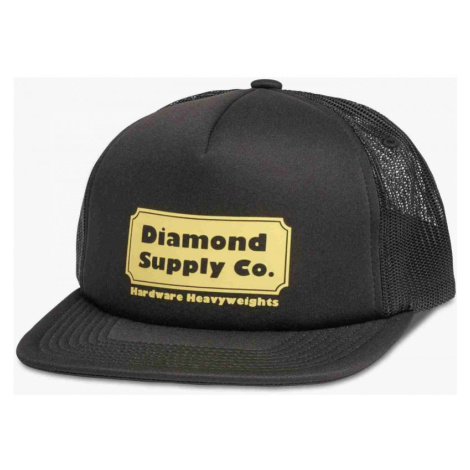 KŠILTOVKA DIAMOND HARDWARE TRUCKER - černá Diamond Supply Co.