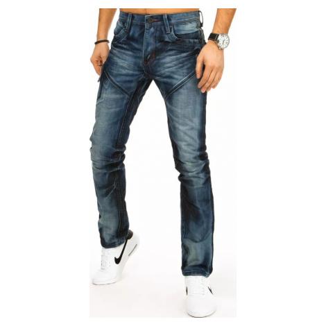 Tmavě modré pánské džíny UX2895 BASIC