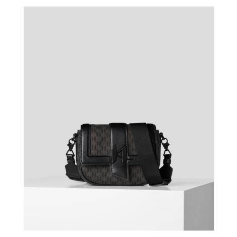 Kabelka Karl Lagerfeld K/Saddle Bag Mono Dnm Sm