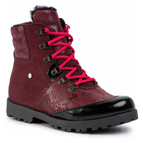 Turistická obuv BARTEK - 97403-4/22D Bordo