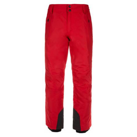 KILPI Pánské lyžařské kalhoty GABONE-M LM0047KIRED Červená