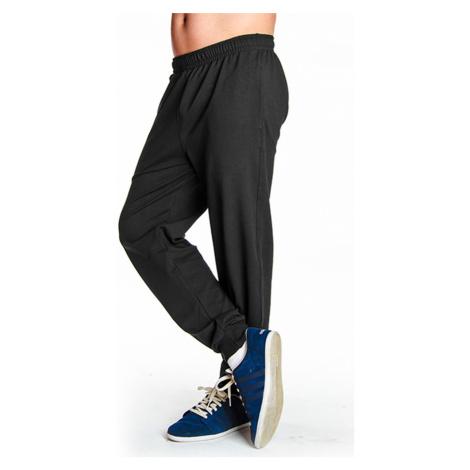 Dlouhé pánské kalhoty se stahovacím lemem 0162