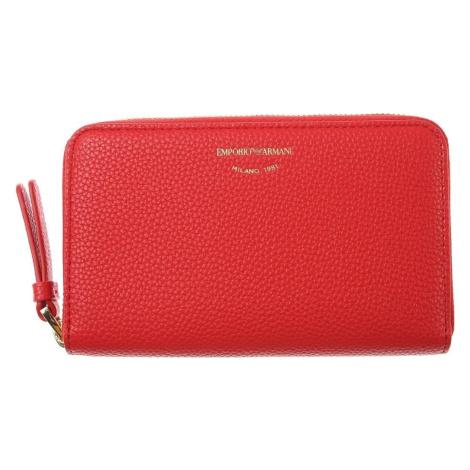 EMPORIO ARMANI Red peněženka