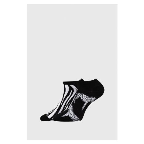 2 PACK dámských ponožek Zebra Boma