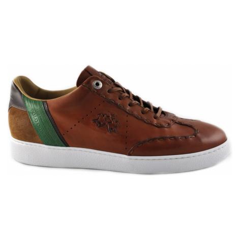 Polobotky La Martina Man Shoes Rodi - Hnědá