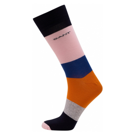 PONOŽKY GANT D1. COLOR BLOCK SOCKS 1-PACK